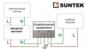 Как подключать стабилизаторы напряжения для дома