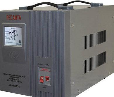 Стабилизатор напряжения Ресанта - устройство и параметры