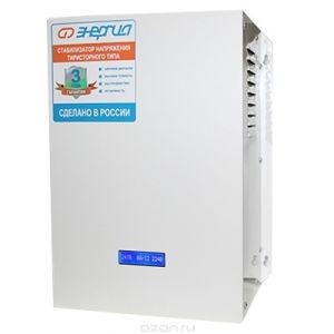 Стабилизатор напряжения Энергия АСН 10000. Отзывы