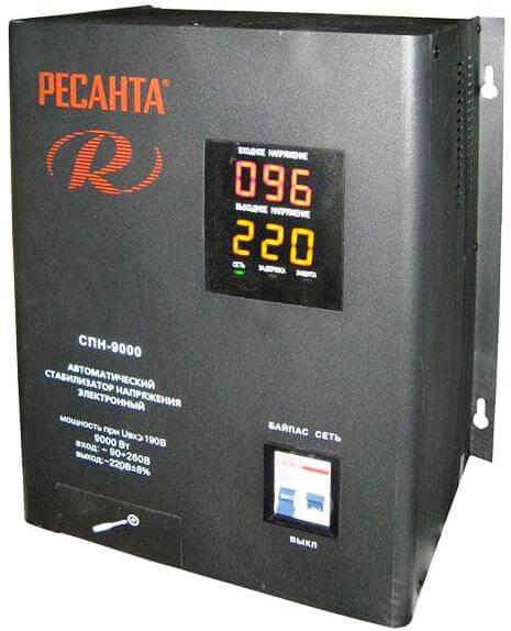 Стабилизаторы напряжения мощностью 5 квт