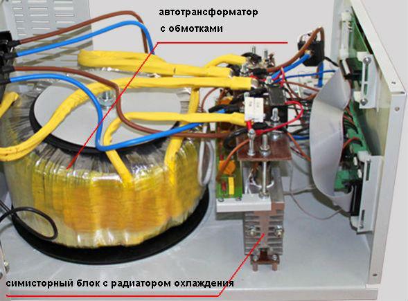 Симисторный стабилизатор напряжения - преимущества и недостатки