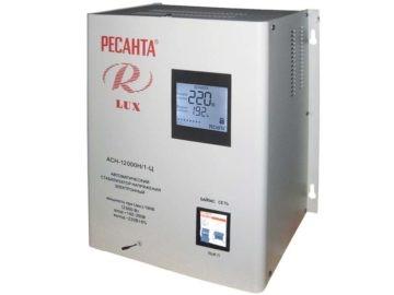 Стабилизатор для дома Ресанта 220 В