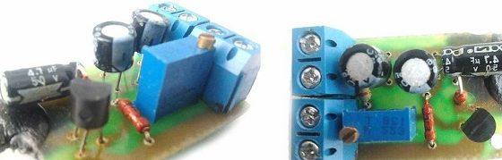 Стабилизатор напряжения на полевом транзисторе