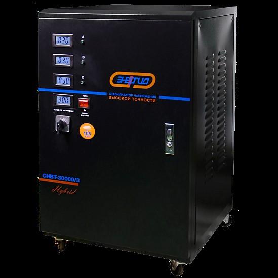 Стабилизатор напряжения 380 вольт 30 квт