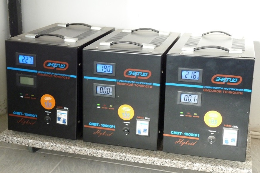 Энергия СНВТ-10000/1 серии Hybrid для стабильной и безопасной работы техники