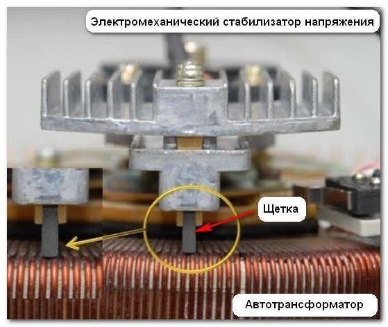 Электромеханический стабилизатор напряжения