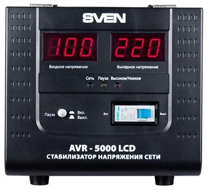 SVEN AVR 5000 LCD, отзывы