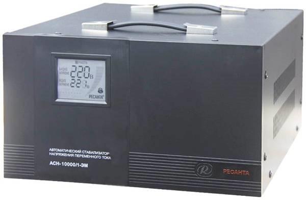 Ресанта АСН 10000/1 ЭМ - стабилизатор что надо!