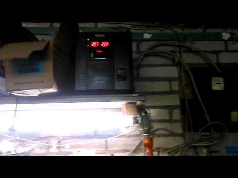 Стабилизатор напряжения в гараж
