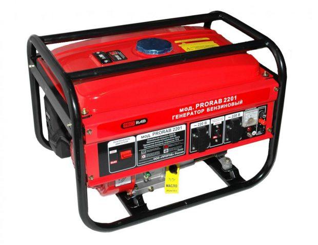 Бензиновый генератор электрического тока для дома